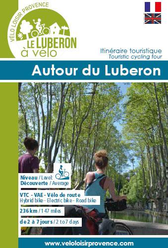 Broschüre Rund um den Luberon mit dem Fahrrad