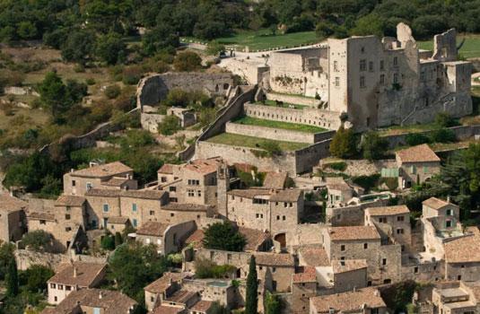 das Schloss von Lacoste