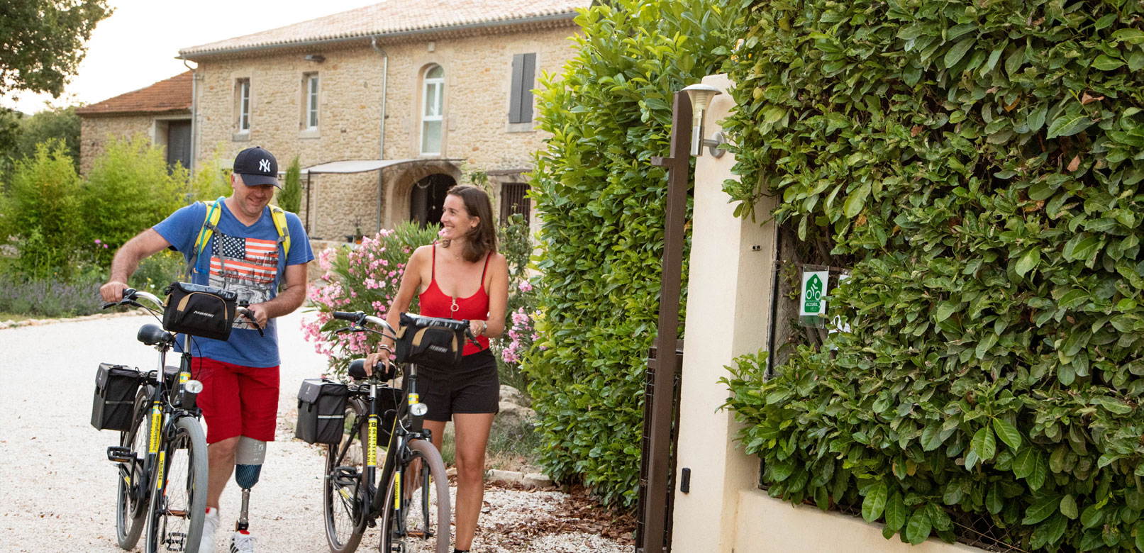 Fahrradunterkünfte Provence @ Hocquel