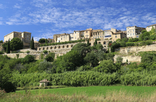 Das Schloss von Lauris