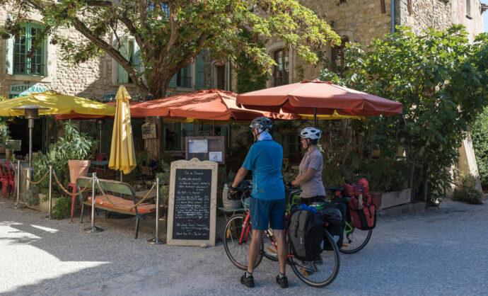 Restaurants für Radfahrer im Vaucluse