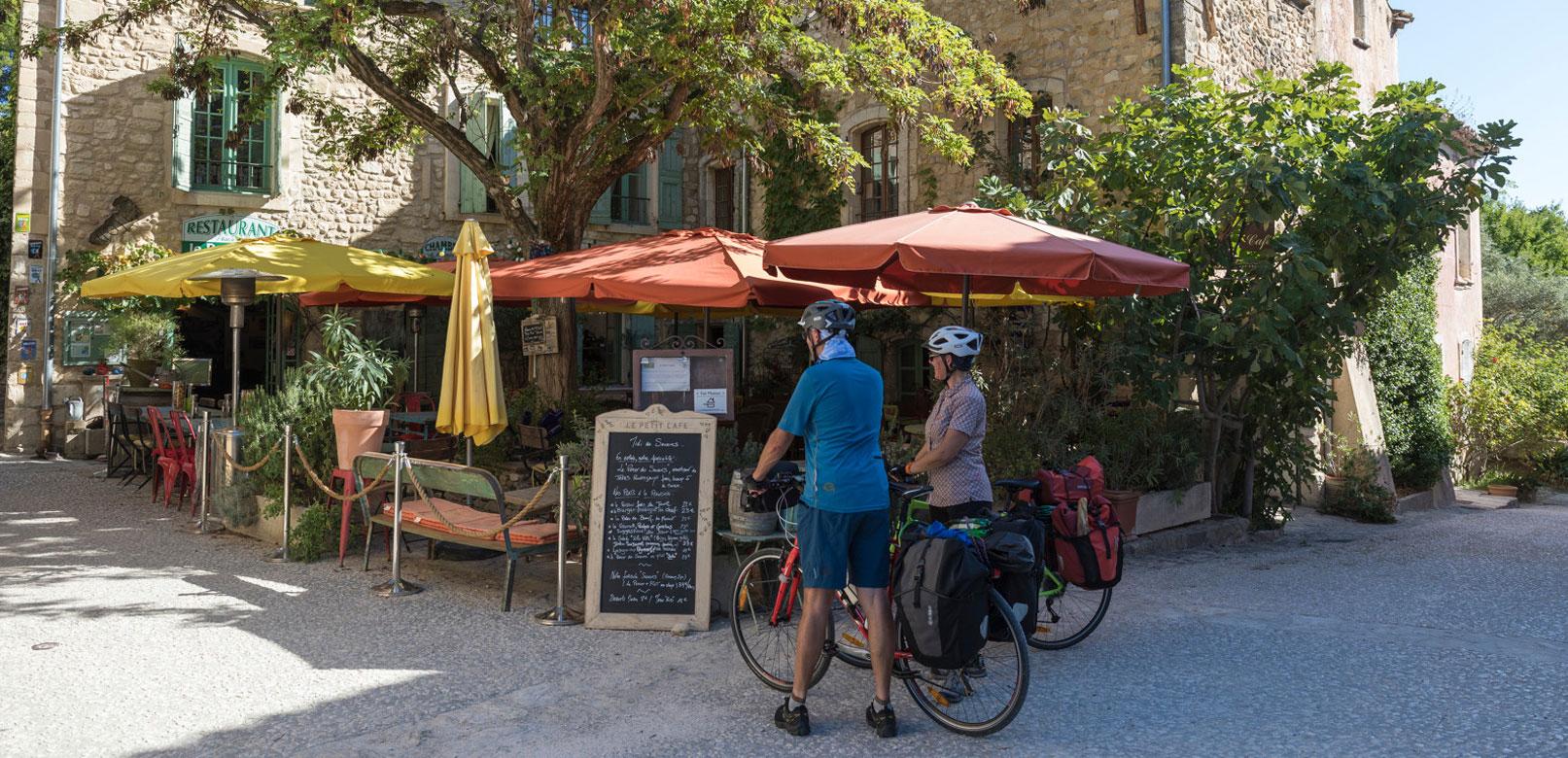 Restaurants für Radfahrer im Vaucluse @ Rathay
