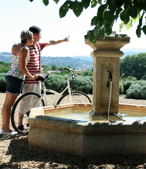 Provence radfahren
