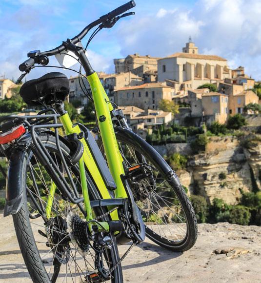 E-Bikes  Gordes