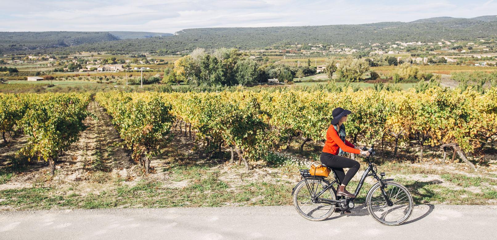Le Luberon à vélo @Coquard