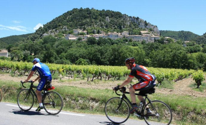 Radrouten Rhône-Tal