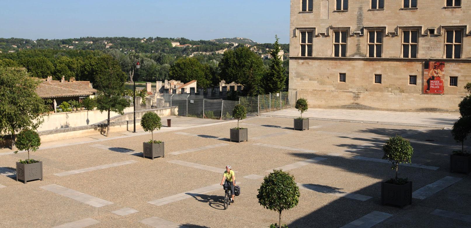 Avignon radfahren @ Brönner