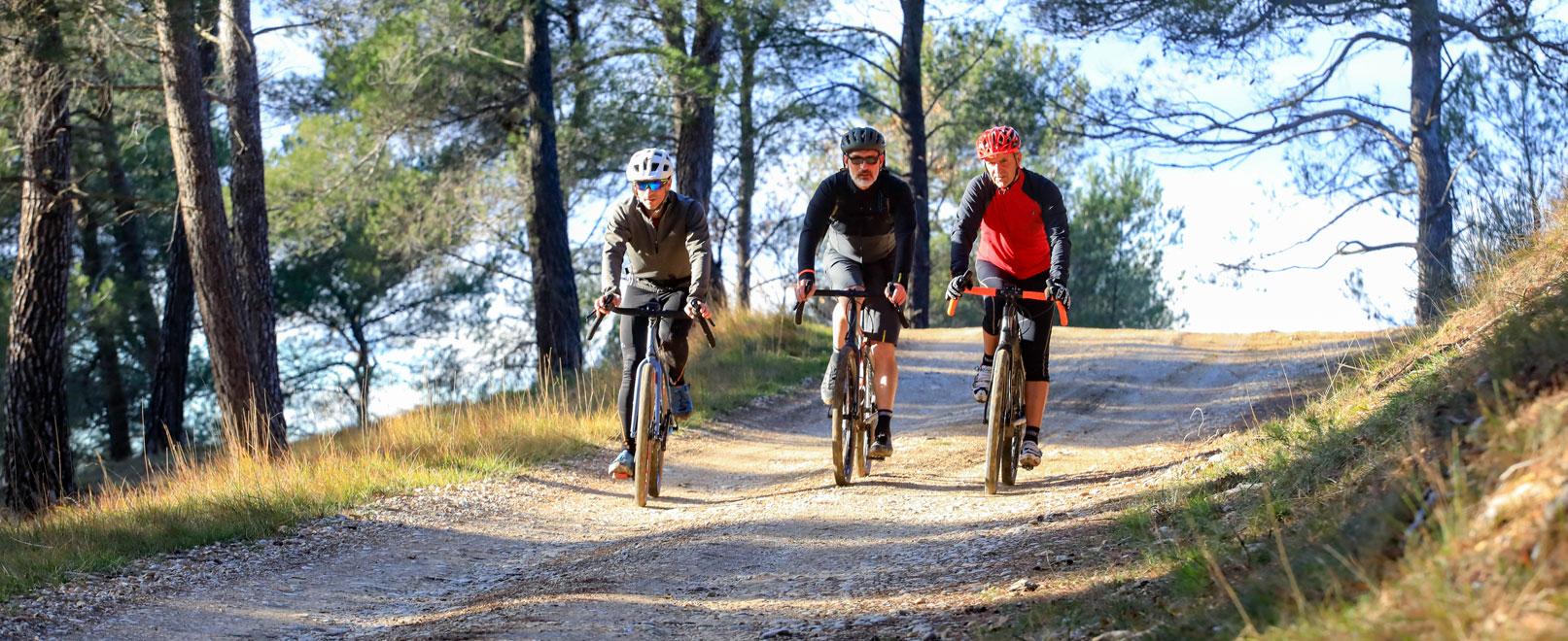 Gravel-Biken in der Provence © Hocquel