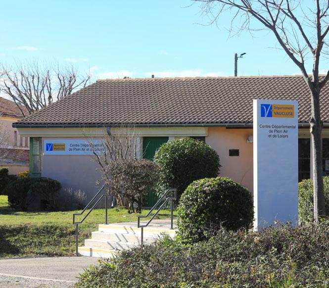 Centre départemental de Plein Air et de Loisirs de Rasteau (Lokales Outdoor- und Freizeitzentrum Rasteau)