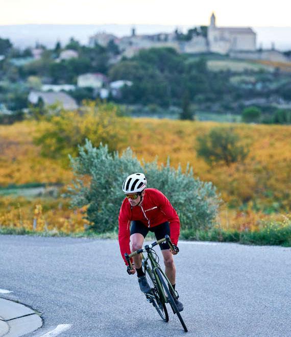 Der Vaucluse ist ein Paradies für Radfahrer