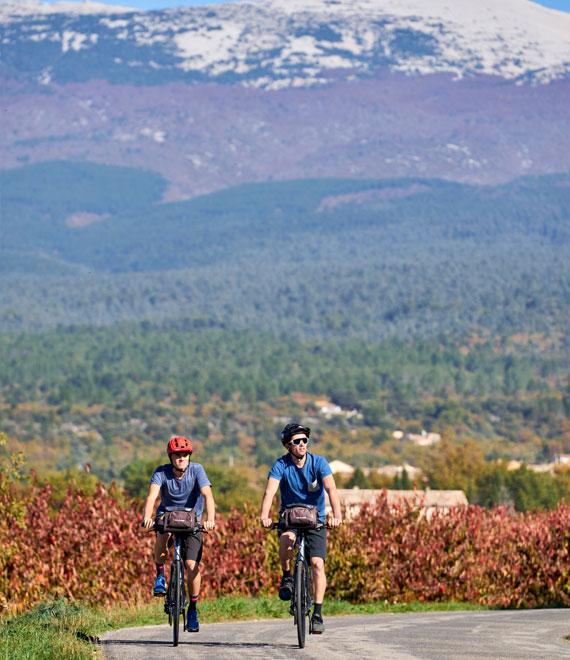 Radfahren Ventoux