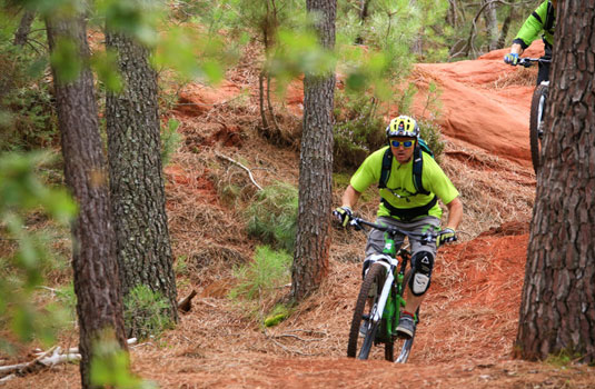 Mountainbike Luberon
